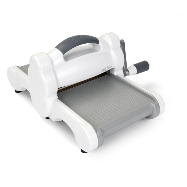 Sizzix Big Shot Die Cutting Machine | White & Grey