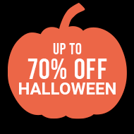 Up To 70% Off Halloween